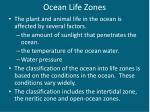 ocean life zones1