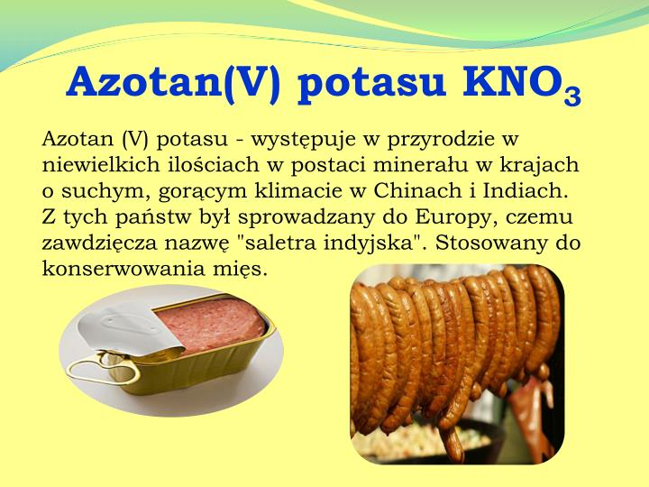 Azotan(V) potasu KNO