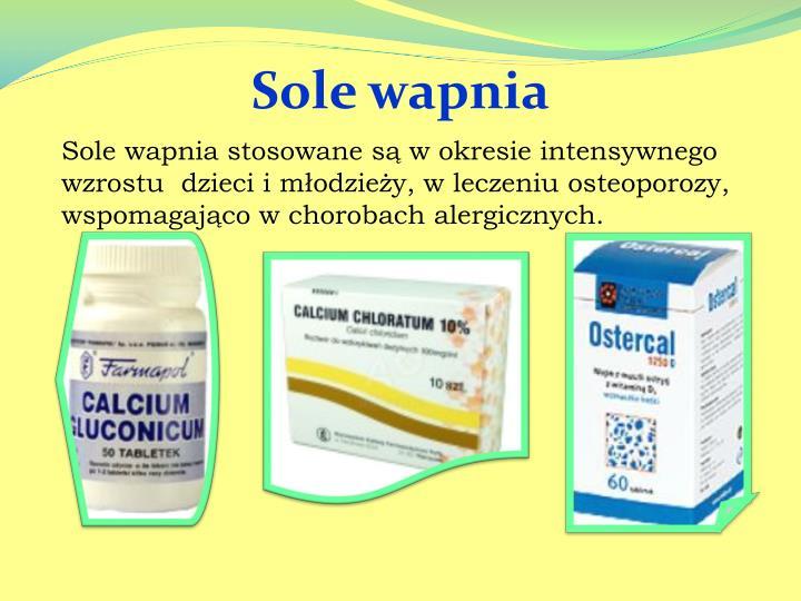 Sole wapnia