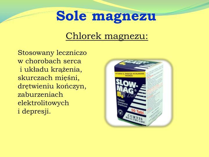 Sole magnezu