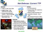 net defense current ttp