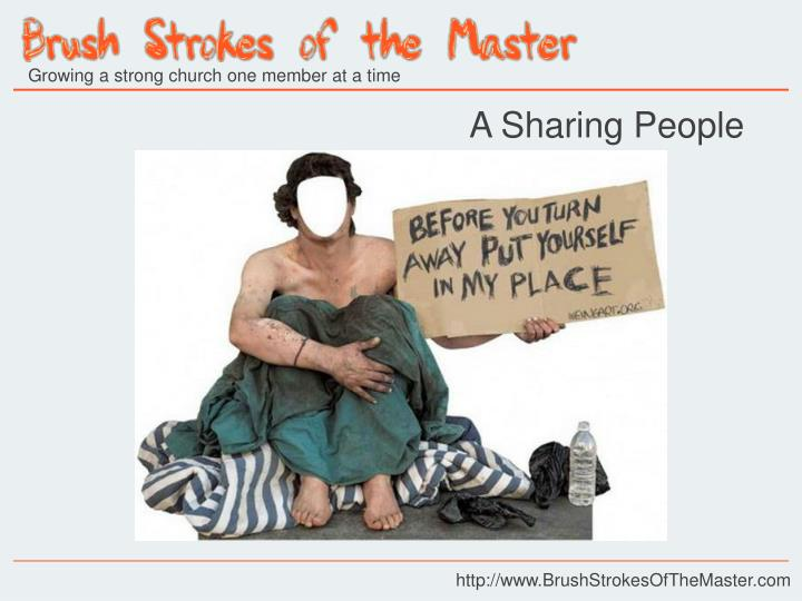 A Sharing People