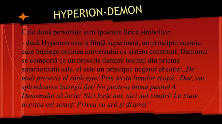 Hyperion demon