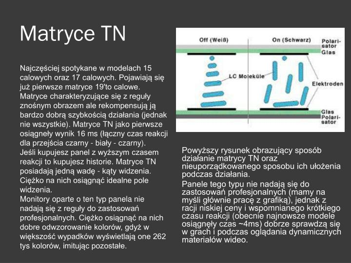 Matryce TN