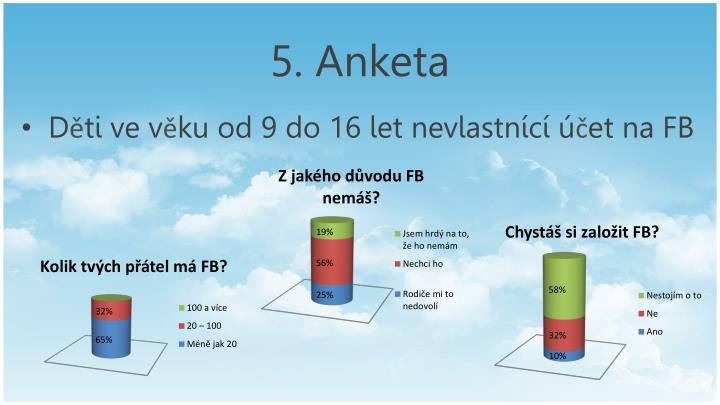 5. Anketa