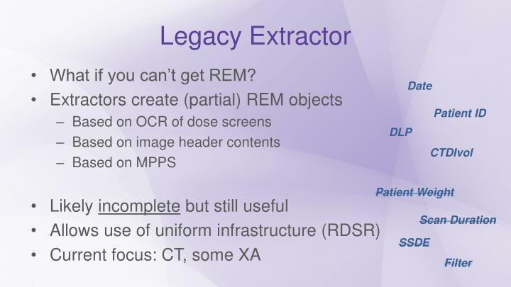 Legacy Extractor