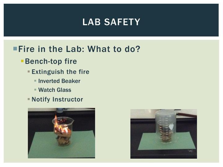 Lab safety
