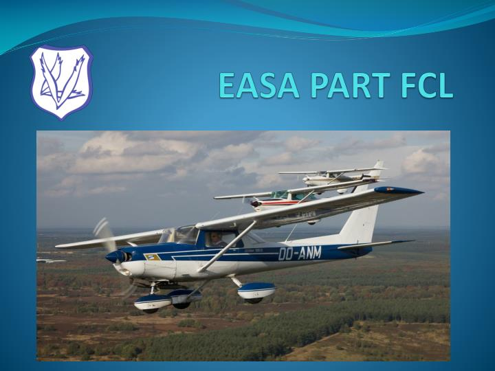easa part fcl