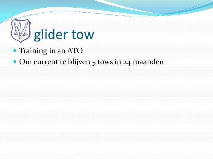 glider tow