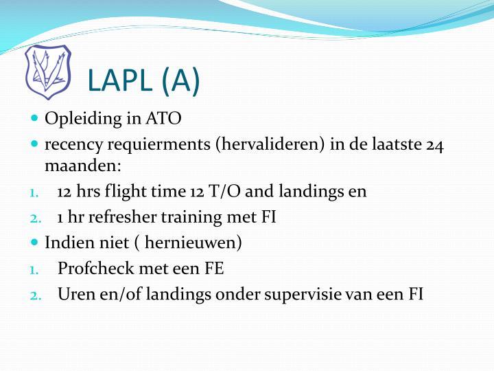 LAPL (A)