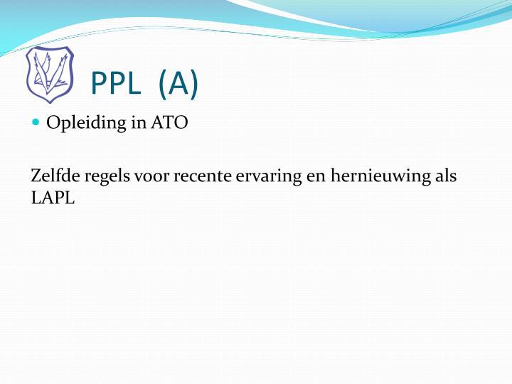 PPL  (A)