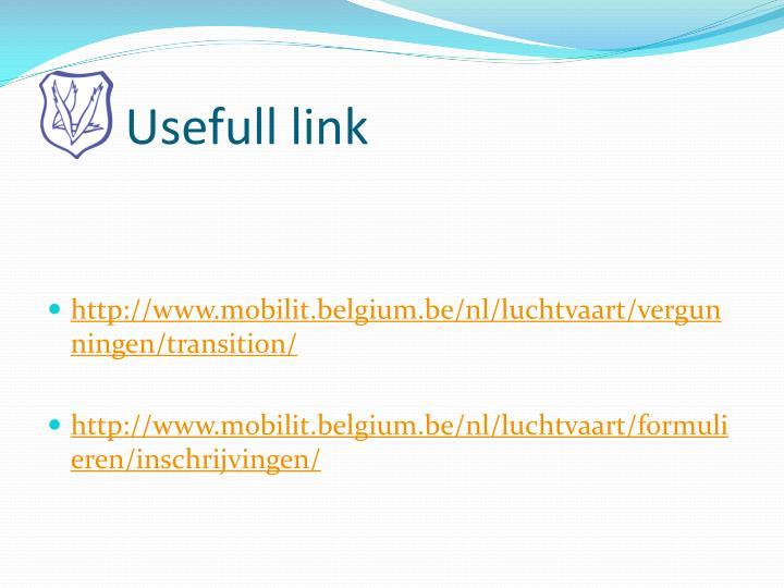 Usefull link