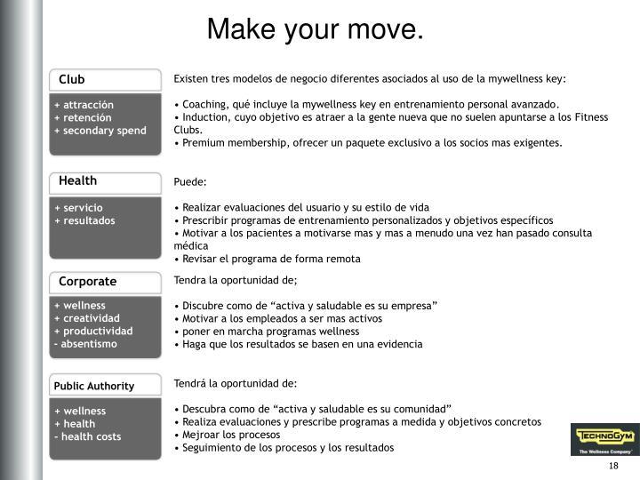 Make your move.