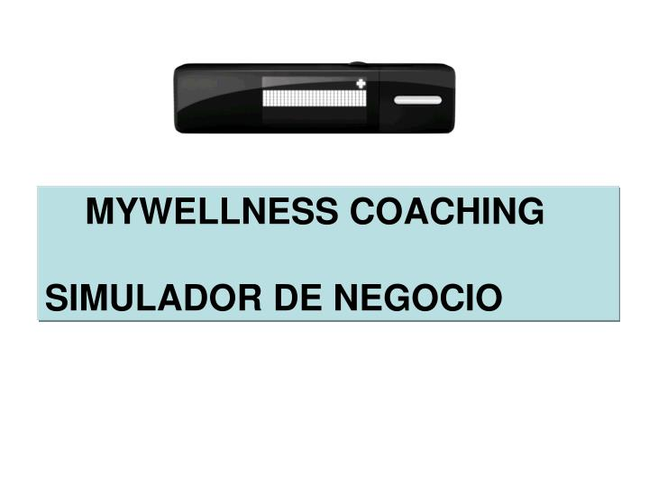 MYWELLNESS COACHING