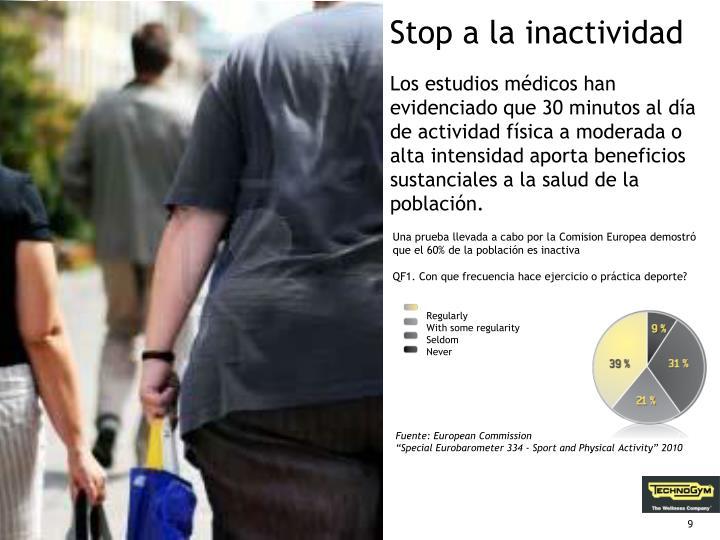 Stop a la inactividad