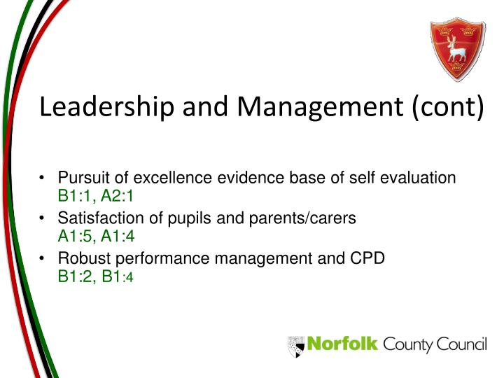 Leadership and Management (