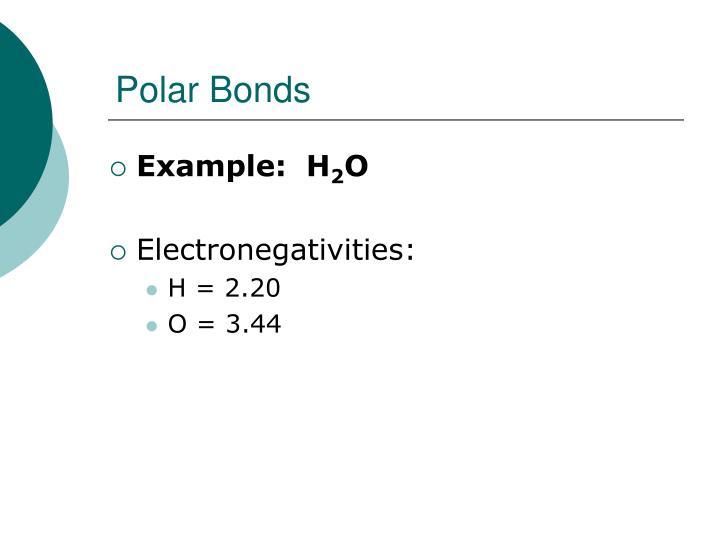 Polar Bonds