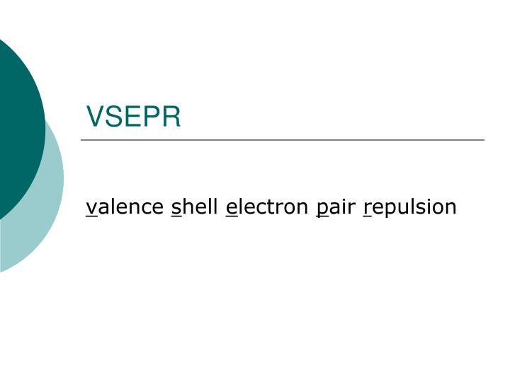 VSEPR