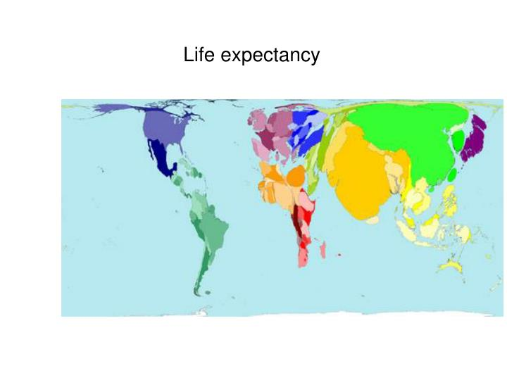 Life expectancy