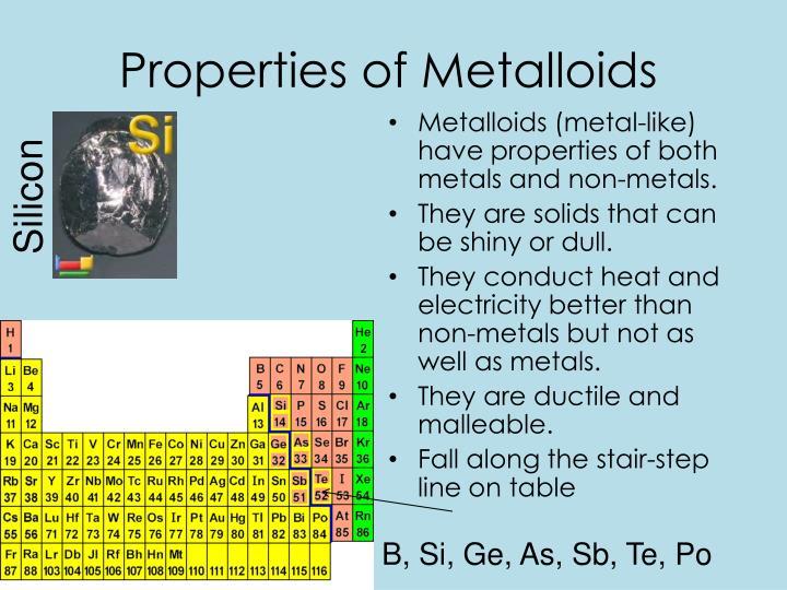 PPT - Metals. Metalloids. Nonmetals. PowerPoint ...