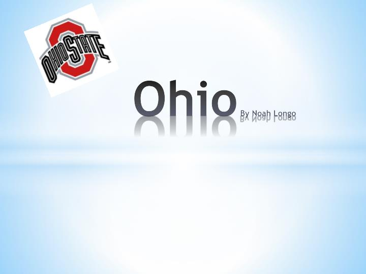 Ohio by noah longo