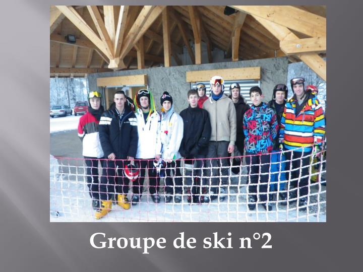 Groupe de ski n°2