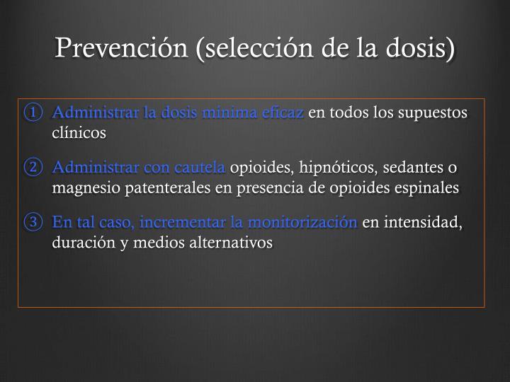 Prevención (