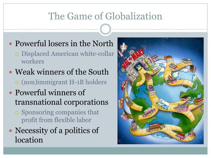 The Game of Globalization