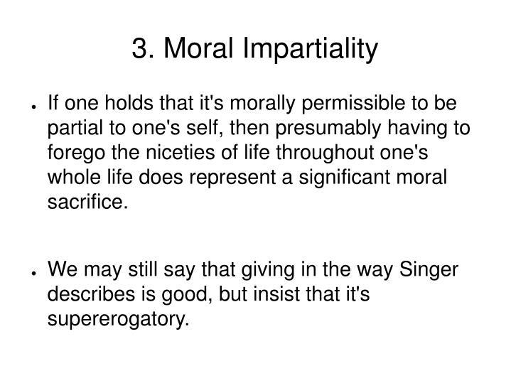3. Moral Impartiality