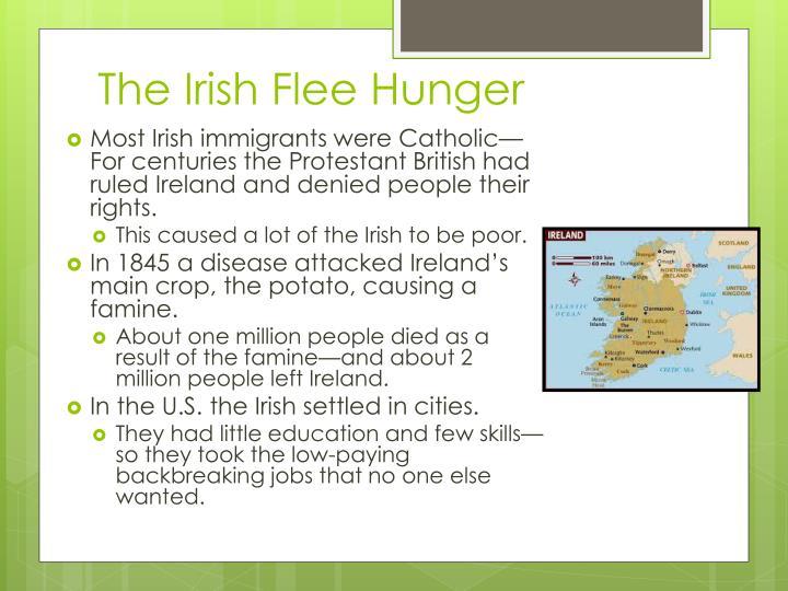 The Irish Flee Hunger