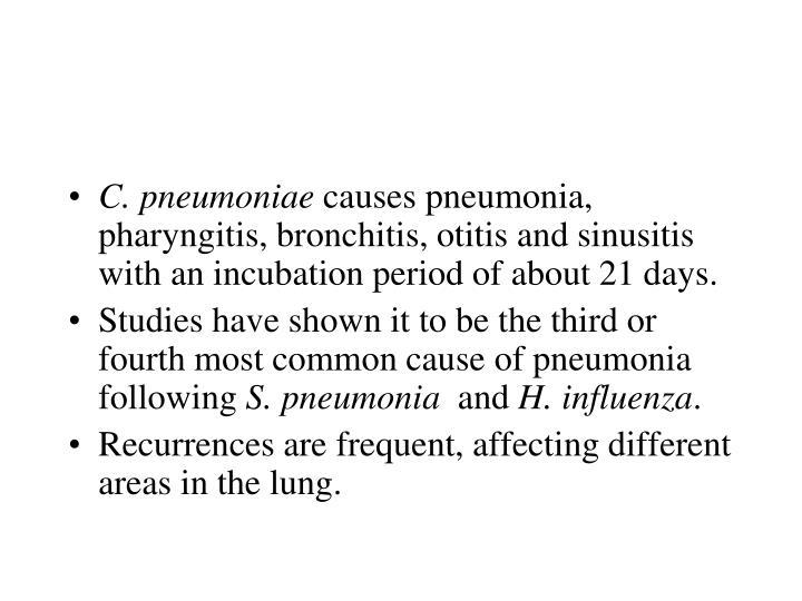 C. pneumoniae