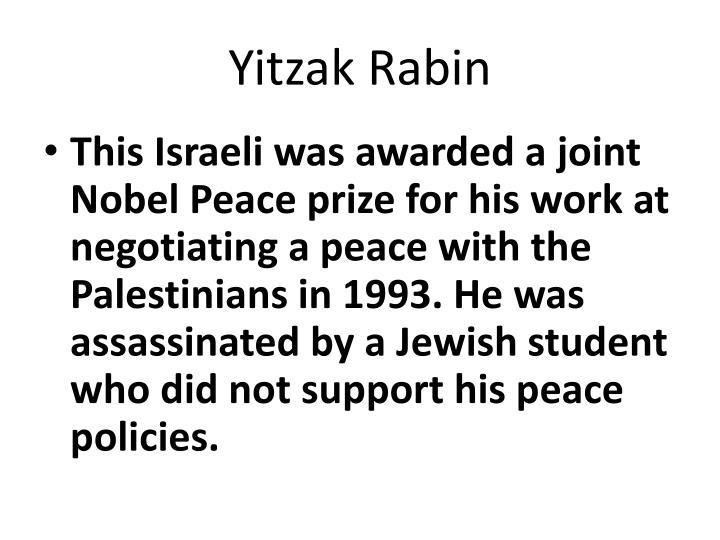 Yitzak