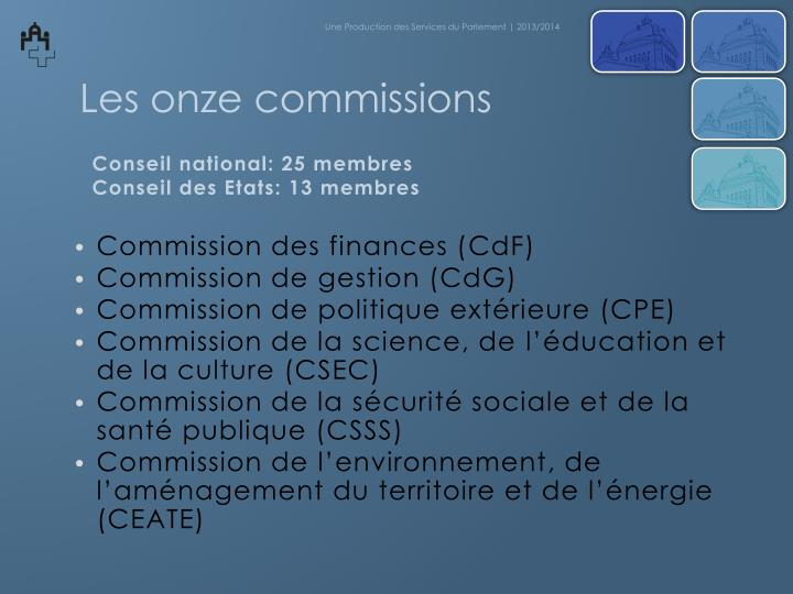 Commission des finances (