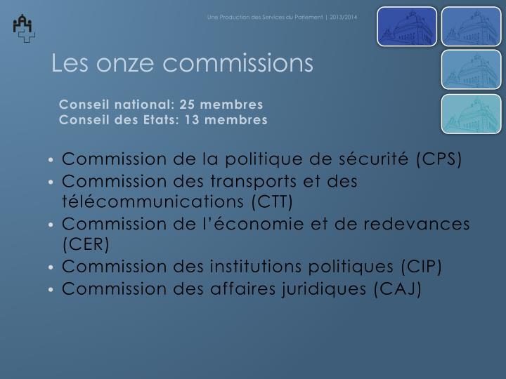 Commission de la
