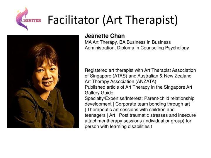 Facilitator (Art Therapist)