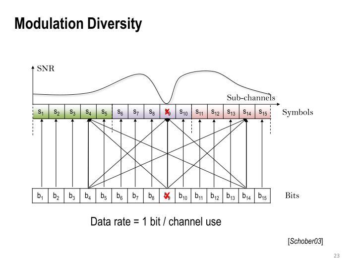 Modulation Diversity