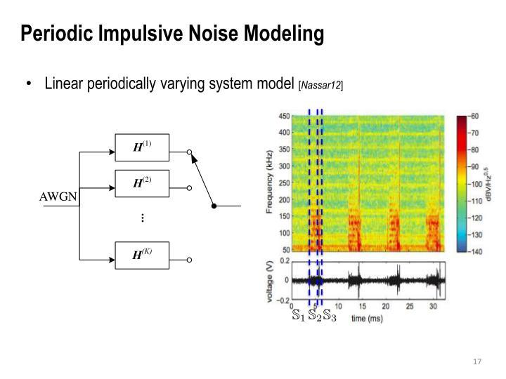 Periodic Impulsive Noise Modeling