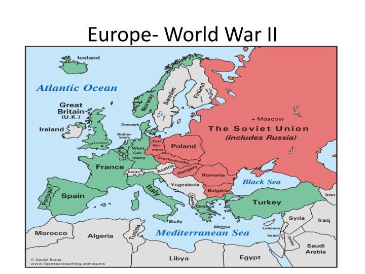 Europe- World War II