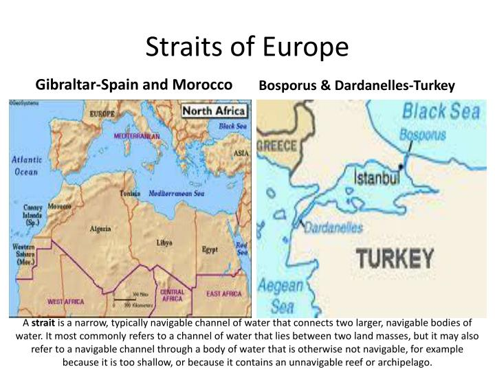 Straits of Europe