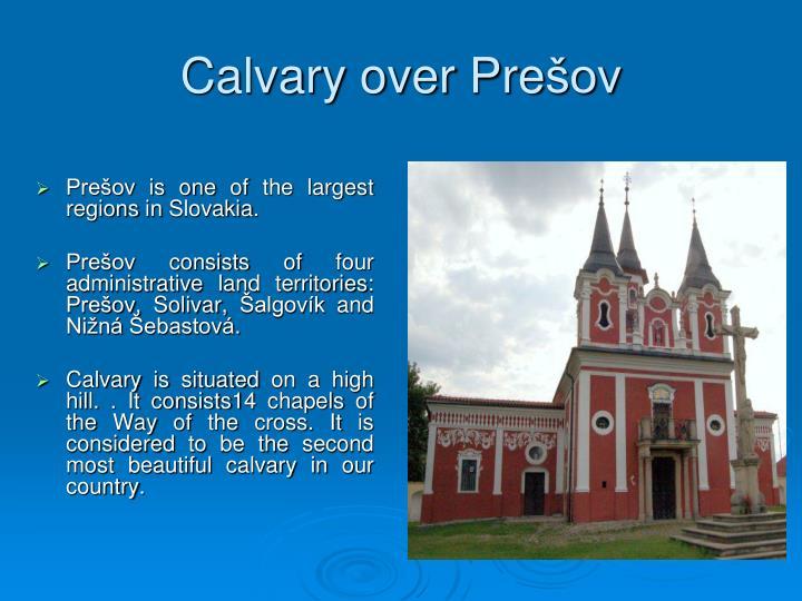 Calvary over Pre