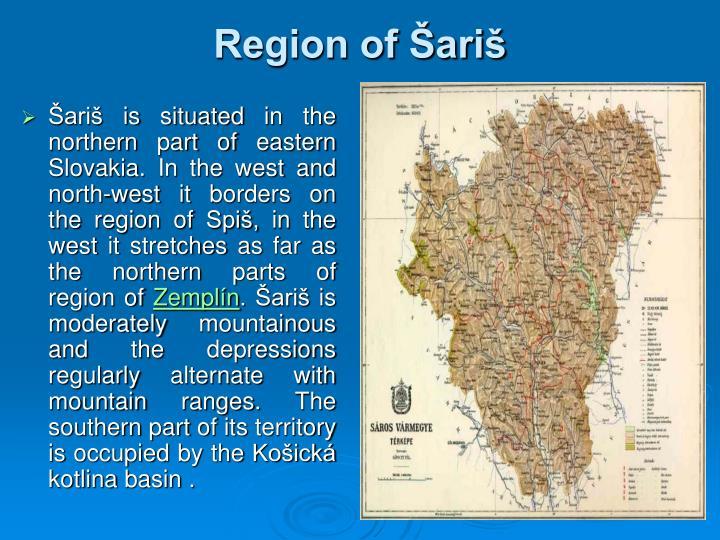 Region of Šariš
