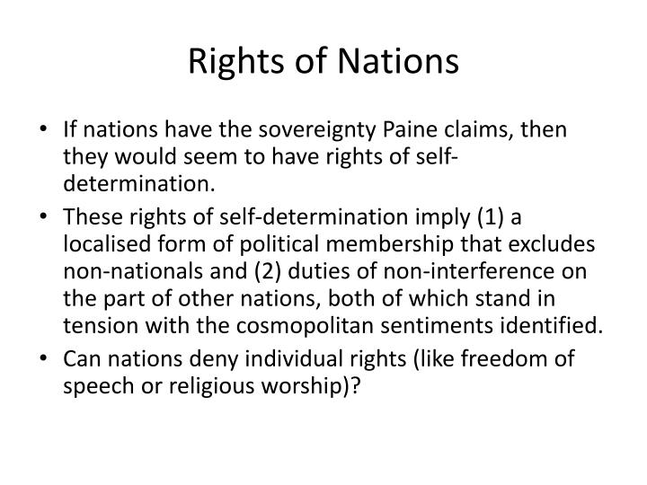 Rights of Nations