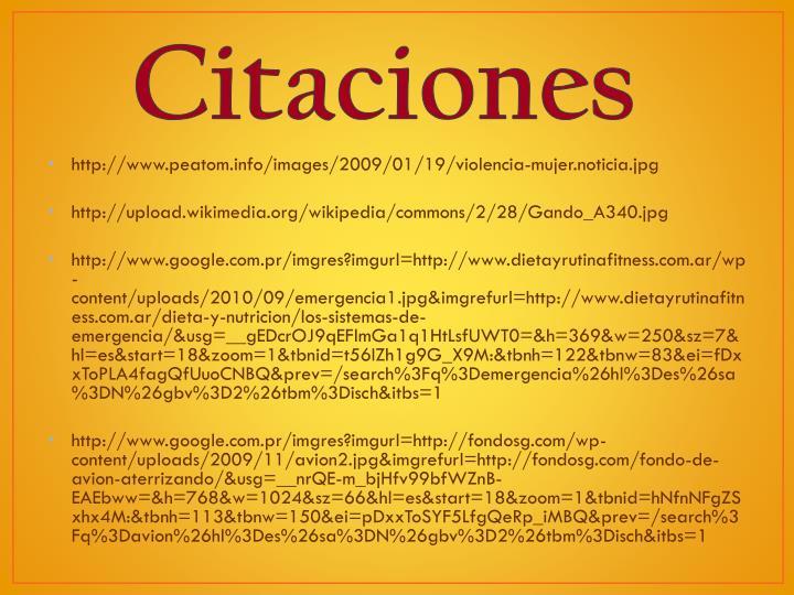 Citaciones