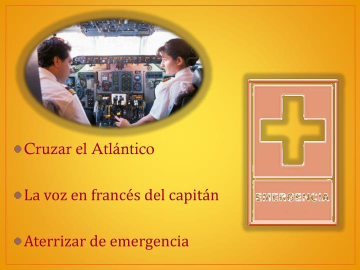 Cruzar el Atlántico