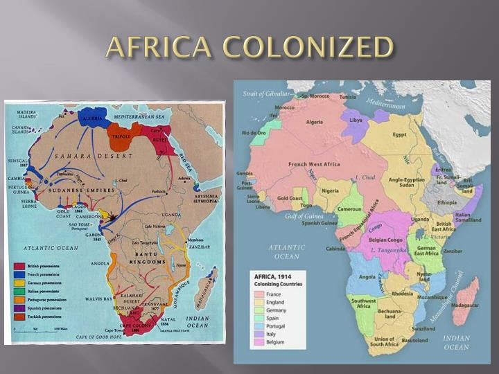 AFRICA COLONIZED