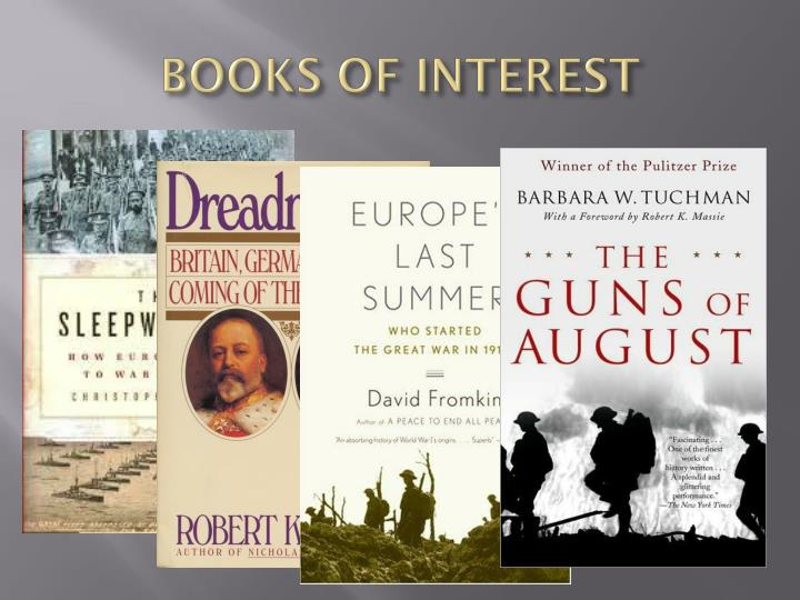 BOOKS OF INTEREST