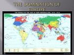 the domination of europe