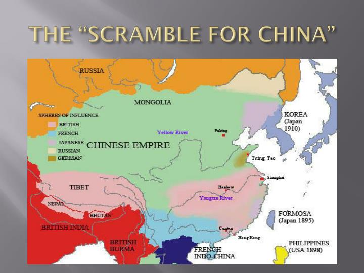 "THE ""SCRAMBLE FOR CHINA"""