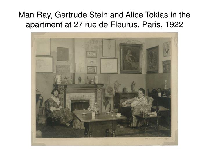 Man Ray, Gertrude Stein and Alice Toklas in the apartment at 27 rue de