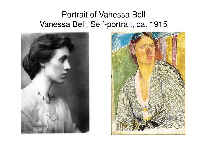 Portrait of Vanessa Bell